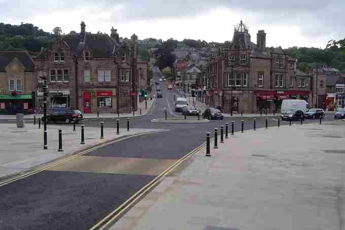 Crown Square – Matlock, Derbyshire