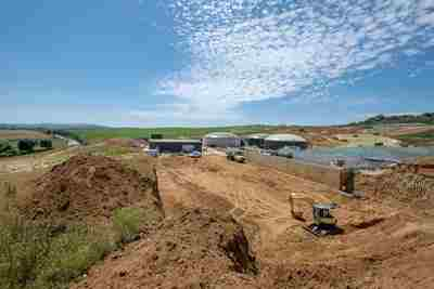 Anaerobic Digestion Plant - Gore, Arreton, Isle of Wight