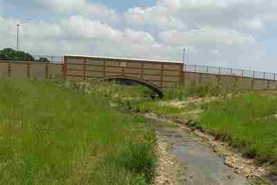 Waterlooville River Restoration, Bridge design and installation