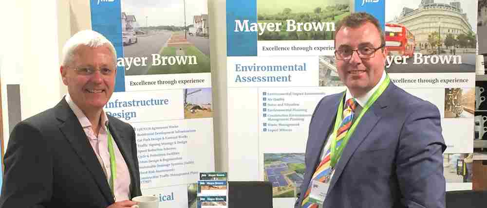 Mayer Brown exhibited at the 2016 Convention of the Royal Town Planning Institute