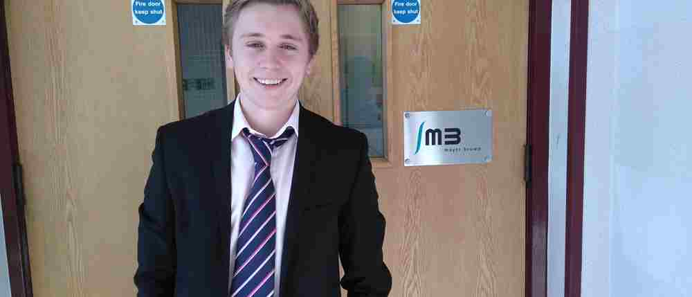 Tom Cassidy, Civil Engineering Apprentice at the Woking Office