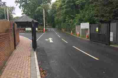 ACS Egham Site Access, Internal Access Road and Car Park Improvements