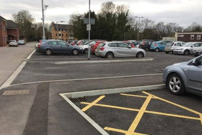Wexham Park Hospital Car Park Improvement Works