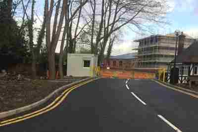 Gardener's Lodge Access Widening & Car Park Works