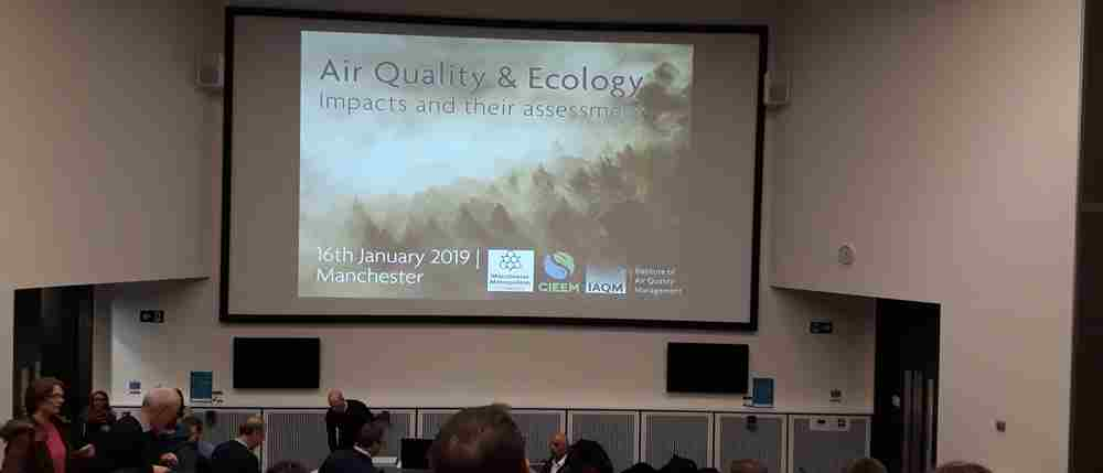 Mayer Brown's attendance at an important air quality conference on assessment of ecological impacts.