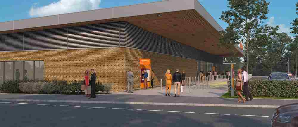 Olney - construction work has started on new Sainsbury's store
