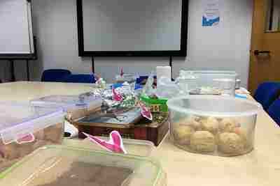 Mayer Brown Charity Cake Bake Update