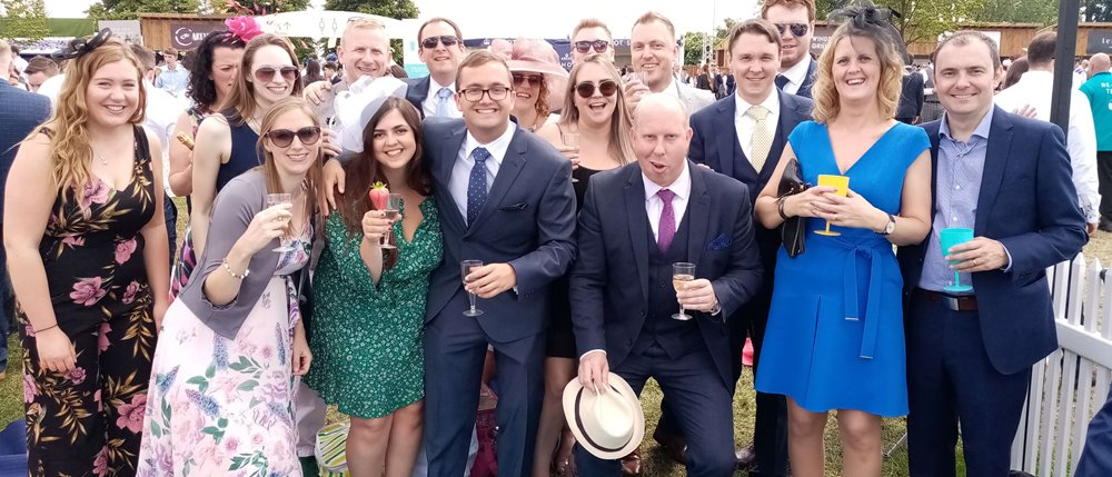 Mayer Brown's Sports and Social Club trip to Ascot